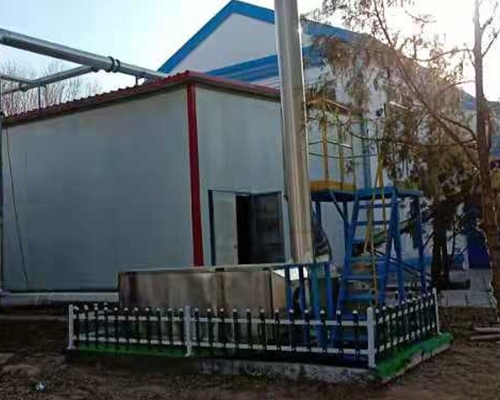 Ningxia Yinchuan Zhongning Wastewater Treatment Plant Deodorization Equipment