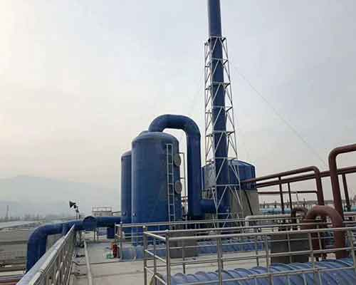 Some waste gas treatment projects