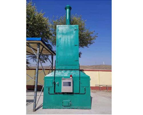 Low temperature cracking equipment for rural beautiful domestic waste