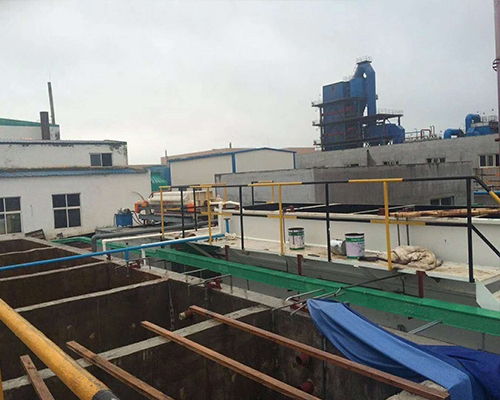 High-concentration pharmaceutical wastewater project in Binhai New Area